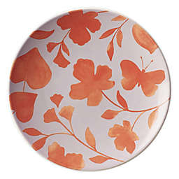 kate spade new york Petal Lane™ Flower Accent Plate in Orange