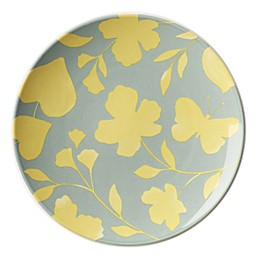 kate spade new york Petal Lane™ Flower Accent Plate in Yellow