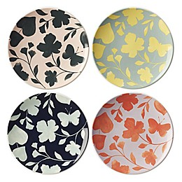 kate spade new york Petal Lane™ Flower Accent Plates (Set of 4)