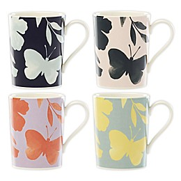 kate spade new york Petal Lane™ Flower Mugs (Set of 4)