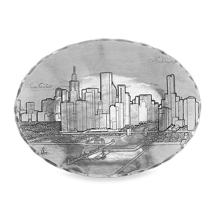 Alternate image 1 for Wendell August Chicago Small Oval Dish