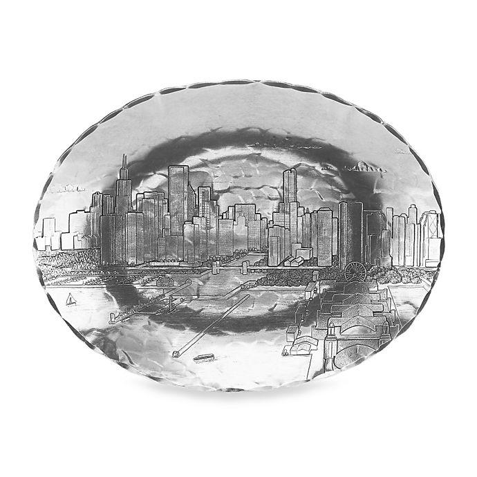 Alternate image 1 for Wendell August Chicago Medium Oval Dish
