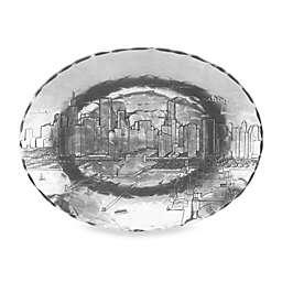 Wendell August Chicago Medium Oval Dish