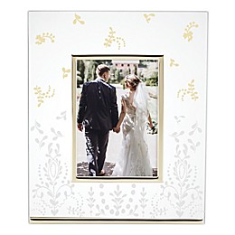Lenox® Opal Innocence™ Flourish 5-Inch x 7-Inch Picture Frame