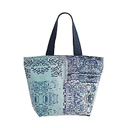 Tracy Porter® Quince 20-Inch Canvas Tote in Light Blue/Purple/Aqua