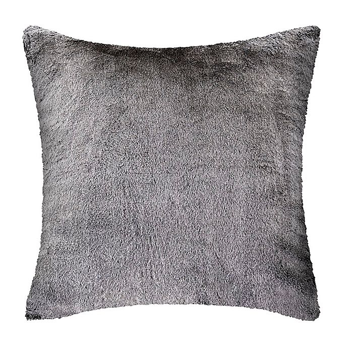 Alternate image 1 for UGG® Dawson Tipped Faux Fur Square European Throw Pillow