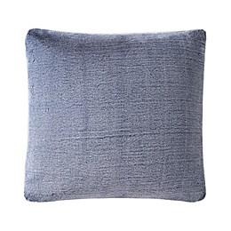 UGG® Dawson Tipped Faux Fur Square European Throw Pillow