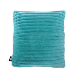 UGG® Fluff Faux Fur Quilted Throw Pillow in Clearwater