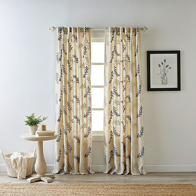 Alternate image 1 for Bee & Willow™ Home Bedford Rod Pocket/Back Tab Light Filtering Window Curtain Panel