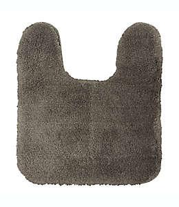 Tapete para baño en herradura Wamsutta® Aire de 53.34 x 60.96 cm en gris carbón