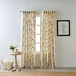 Bee & Willow™ Home Bedford 84-Inch Rod Pocket Window Curtain Panel in Natural
