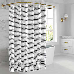 O&O by Olivia & Oliver™ 72-Inch x 72-Inch Madison Stripe Shower Curtain