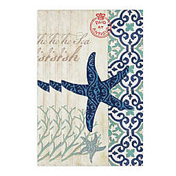 Starfish Wonder 32-Count Paper Guest Towels