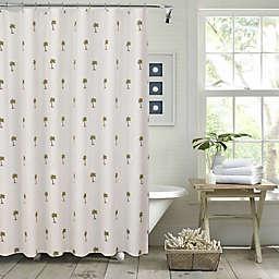 Pereira da Cunha Palm Tree Shower Curtain