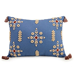 Jessica Simpson Antara Oblong Throw Pillow in Blue
