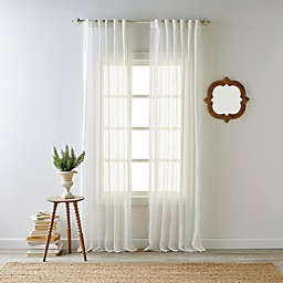Bee & Willow™ Home Kai Sheer Rod Pocket with Back Tab Window Curtain Panel