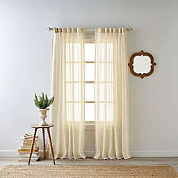 Bee & Willow™ Home Kai 95-Inch Rod Pocket Window Curtain Panel in Natural