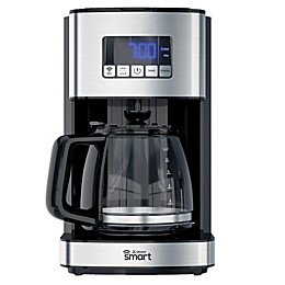 atomi 12-Cup Smart Coffee Maker in Black/Silver