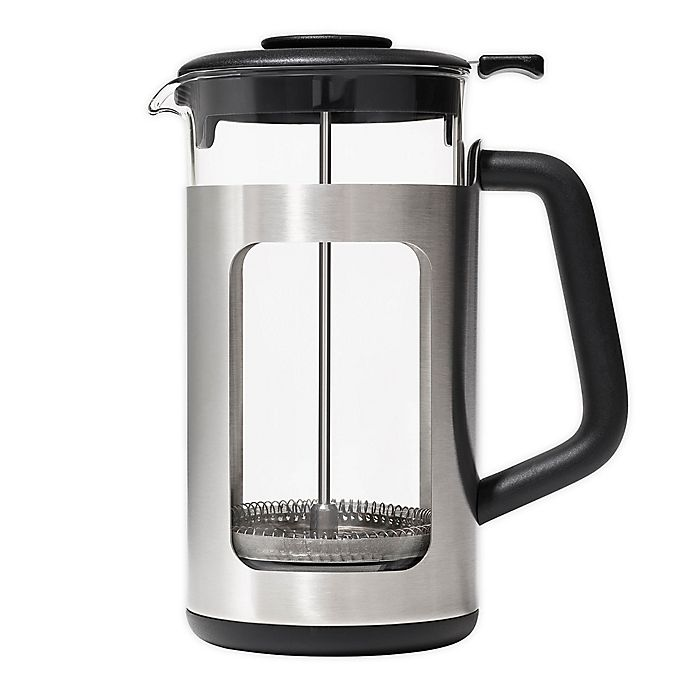 Alternate image 1 for OXO Brew 8-Cup French Press with Groundslifter