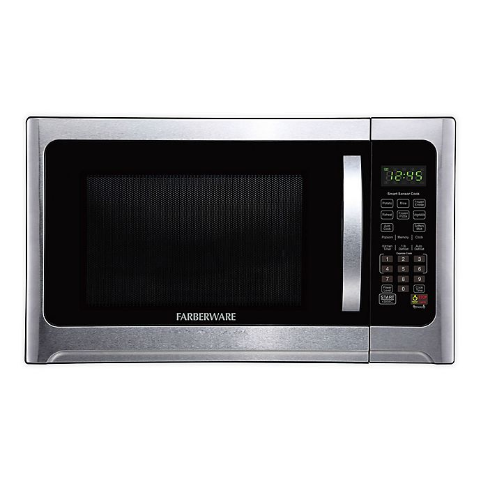 Alternate image 1 for Farberware® Professional 1.2 cu. ft. Microwave Oven in Silver/Black