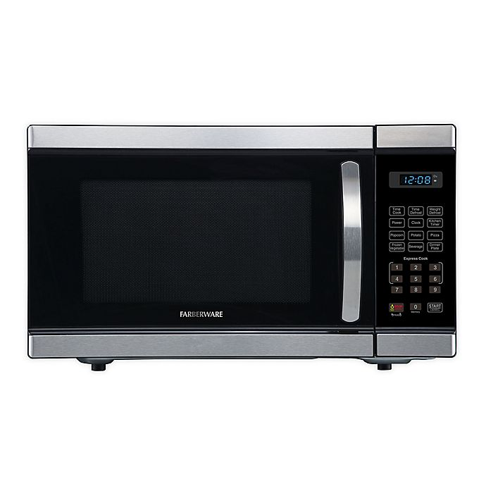 Alternate image 1 for Farberware® Professional 1.1 cu. ft. Microwave Oven in Silver