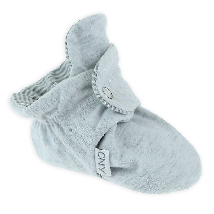 Alternate image 1 for Capelli New York Jersey Cotton Slipper in Heather Grey