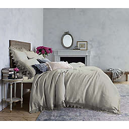Wamsutta™ Vintage Evelyn Lace Queen Duvet Cover in Grey/Violet
