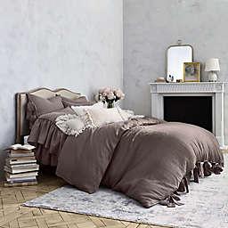 Wamsutta® Vintage Abigall King Duvet Cover in Raisin