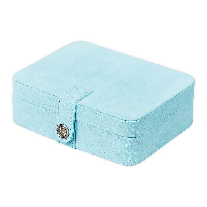 Alternate image 1 for Mele & Co. Giana Jewelry Box in Aqua