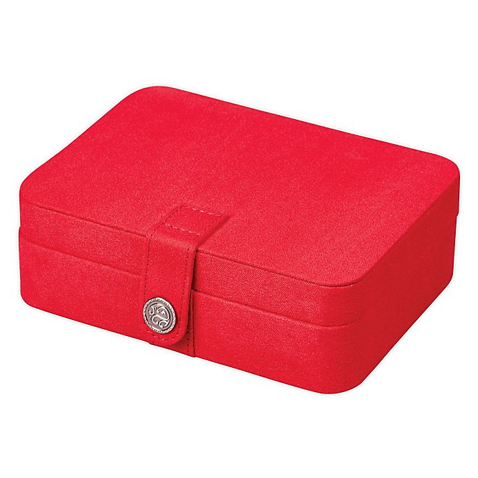 Alternate image 1 for Mele & Co. Giana Jewelry Box in Red