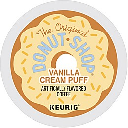 The Original Donut Shop® Vanilla Cream Puff Coffee Keurig® K-Cup® Pods 18-Count