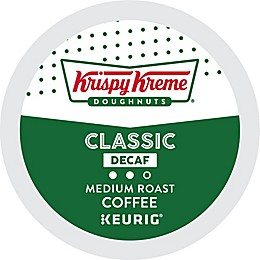 Keurig® K-Cup® 18-Count Krispy Kreme® Classic Decaf Medium Roast Coffee