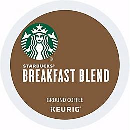 Starbucks® Breakfast Blend Medium Roast Coffee Keurig® K-Cup® Pods 16-Count