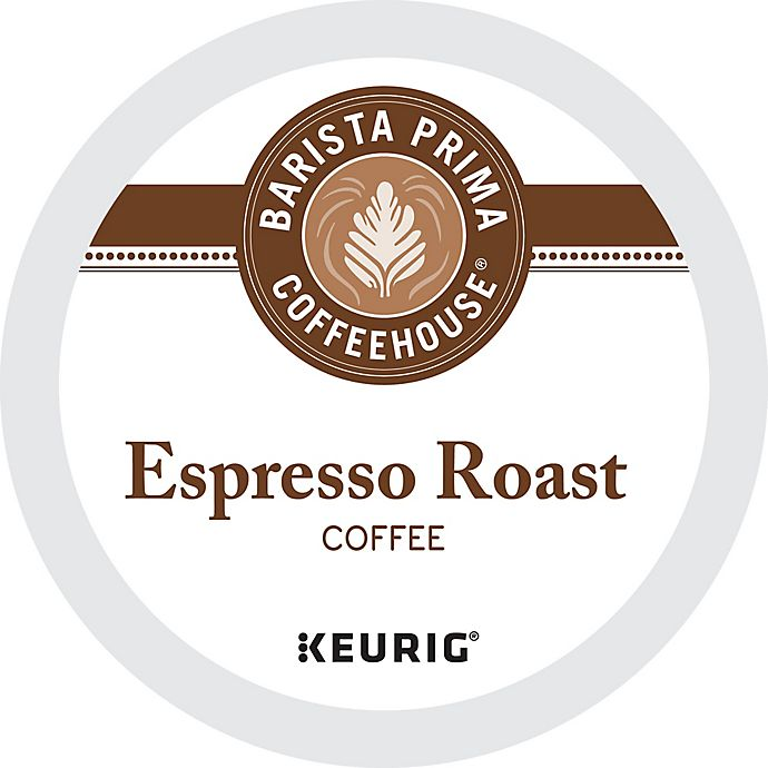Alternate image 1 for Barista Prima Coffeehouse® Espresso Roast Coffee Keurig® K-Cup® Pods 18-Count