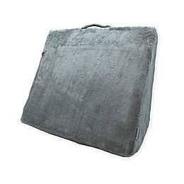 Brookstone® Bed Wedge Junior Pillow in Grey