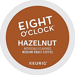 Keurig® K-Cup® Pack 18-Count Eight O'Clock® Hazelnut Flavored Medium Roast Coffee