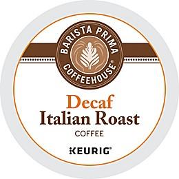 Barista Prima Coffeehouse® Decaf Italian Roast Coffee Keurig® K-Cup® Pods 18-Count