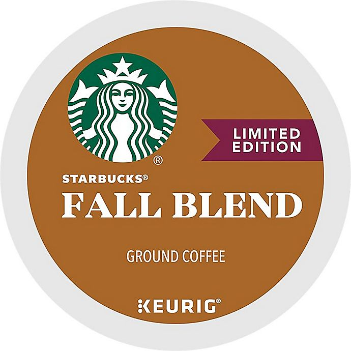 Alternate image 1 for Starbucks® Fall Blend Coffee Keurig® K-Cup® Pods 16-Count