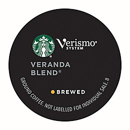 Starbucks® Verismo® 12-Count Veranda Blend Brewed Coffee Pods