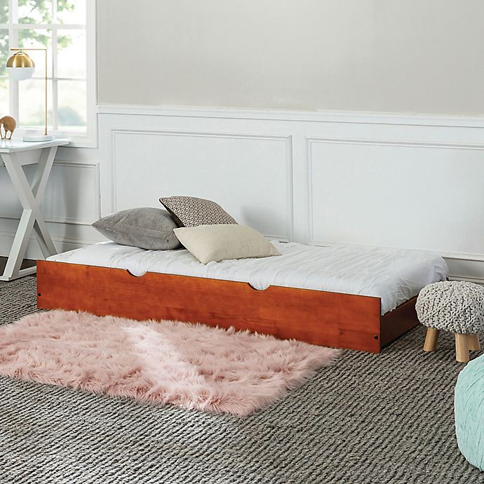 Alternate image 1 for Forest Gate™ Charlotte Solid Wood Twin Trundle Bed