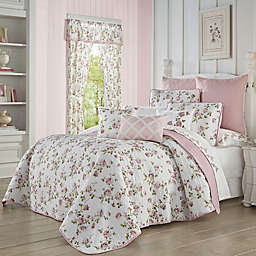 Mary 3-Piece Reversible Full/Queen Quilt Set in Rose