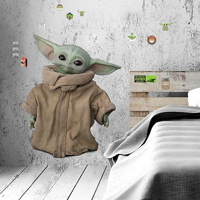 Alternate image 1 for RoomMates® Star Wars™ The Mandalorian The Child Peel and Stick Giant Wall Decal Set