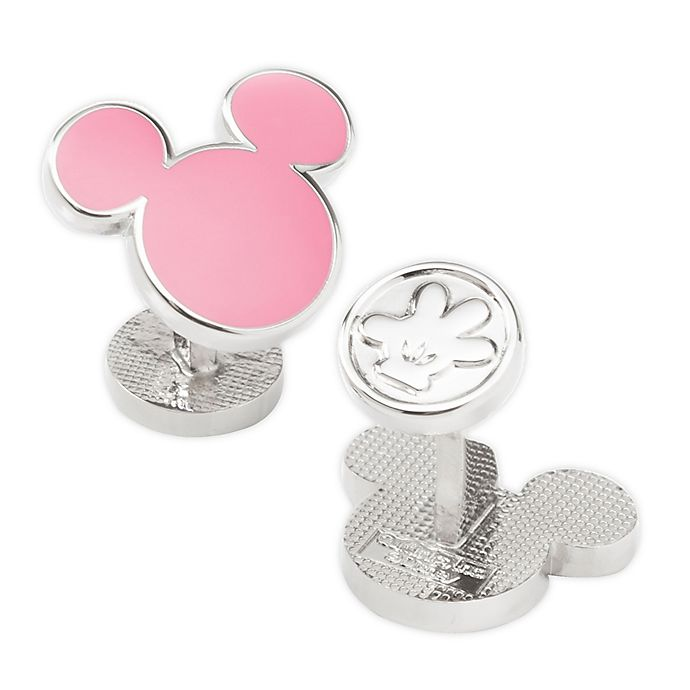 Alternate image 1 for Disney® Mickey Mouse Silhouette Cufflinks