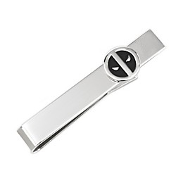 Marvel® Deadpool Silver Mask Tie Bar
