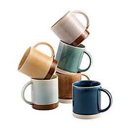 Over & Back® Devin Mugs (Set of 6)