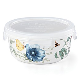 Lenox® Butterfly Meadow® 5.25-Inch Round Food Storage Container