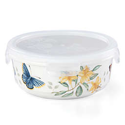 Lenox® Butterfly Meadow® 6.25-Inch Round Food Storage Container