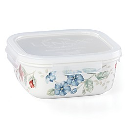 Lenox® Butterfly Meadow® 5.75-Inch Square Food Storage Container