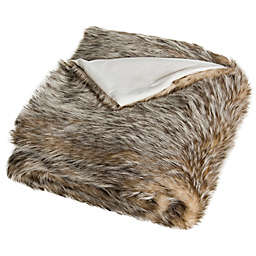 Safavieh Dusty Faux Fur Throw Blanket