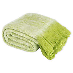 Safavieh Glendal Throw Blanket in Green